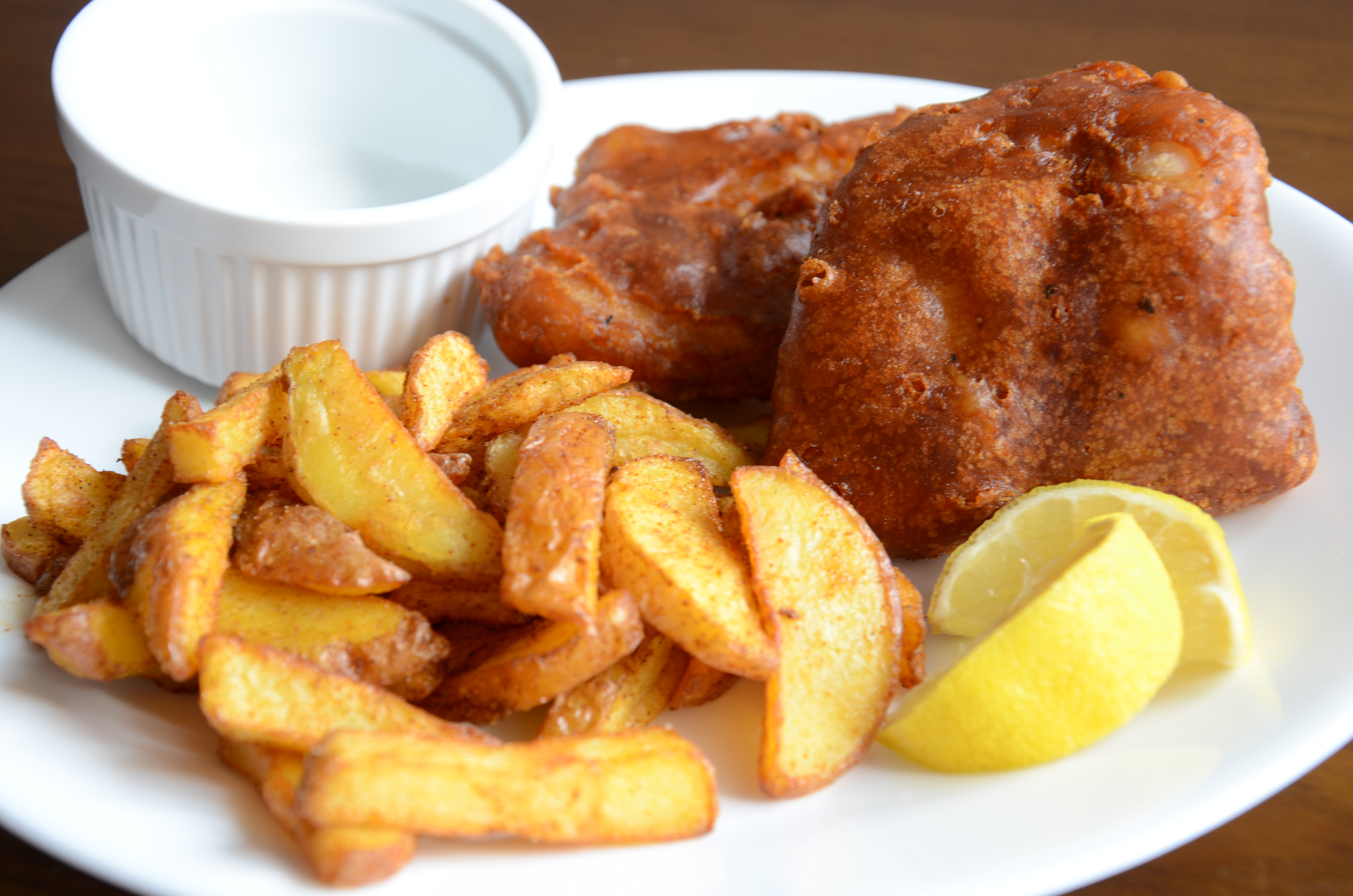 Fish and chips butter love affair for Oak city fish and chips