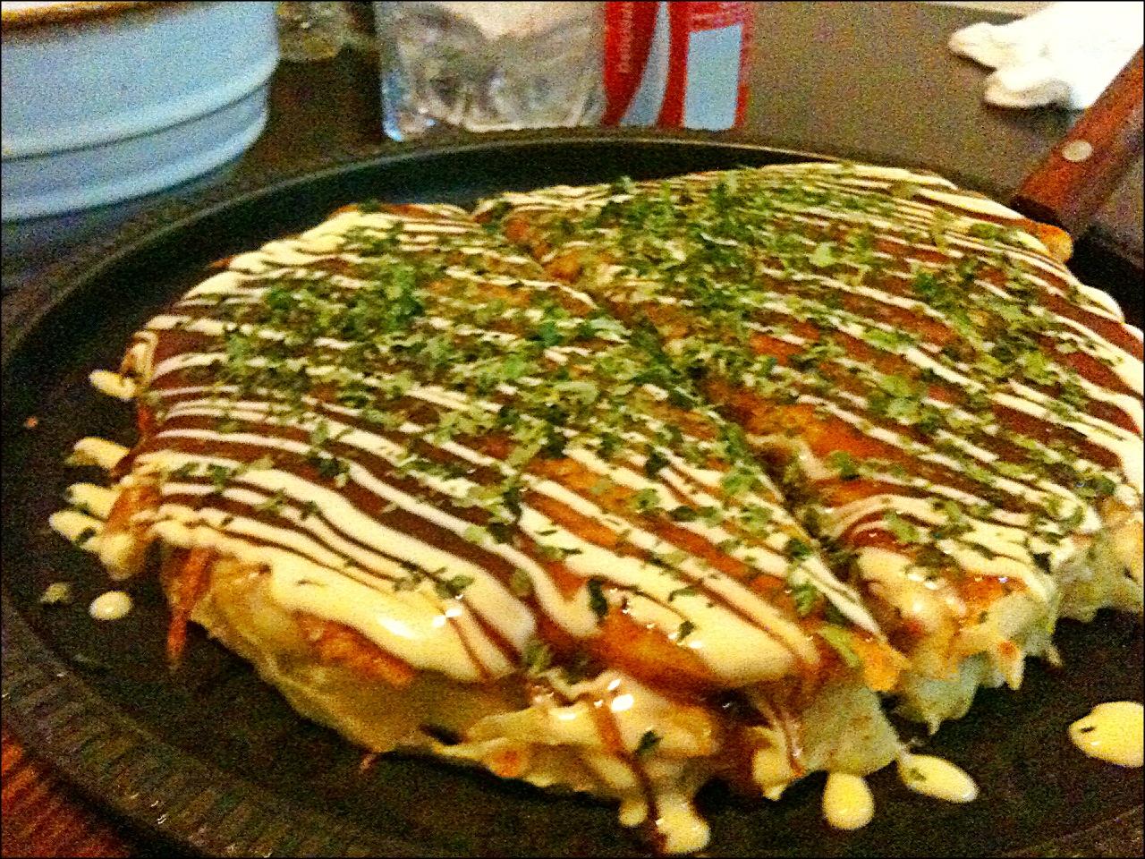 Yummy food addict desember 2014 download this here the okonomiyaki got from kagura taken june picture forumfinder Images