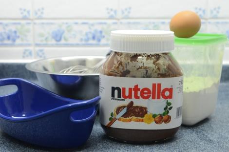 Nutella Brownies: Ingredients