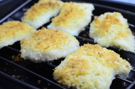 Parmesan Crusted Fish: Rack 2