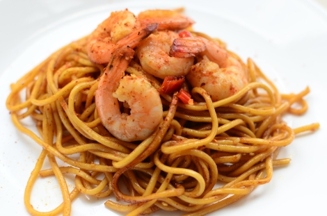 Stir-fried Chili Prawns 2