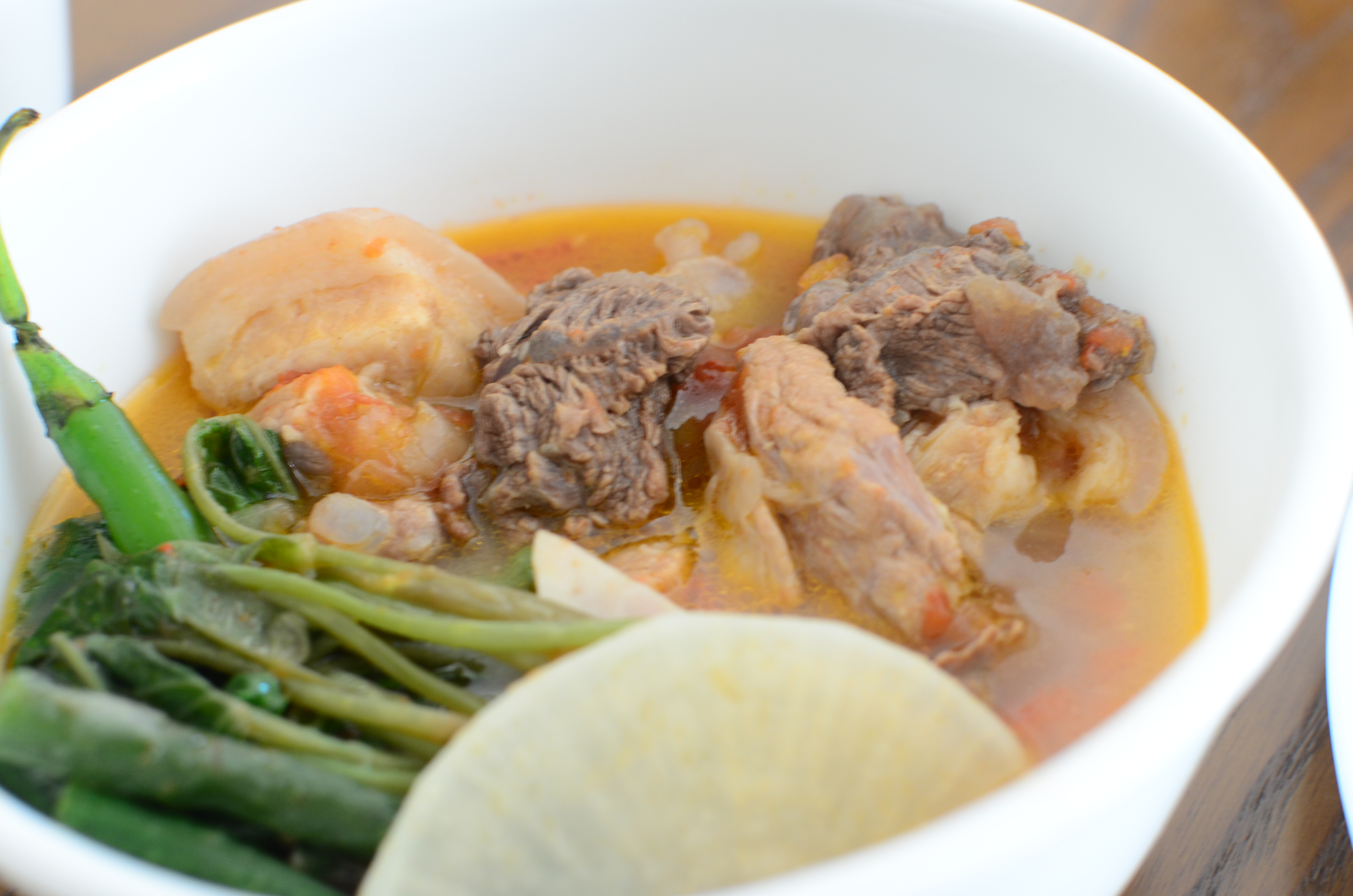 how to cook pork belly sinigang