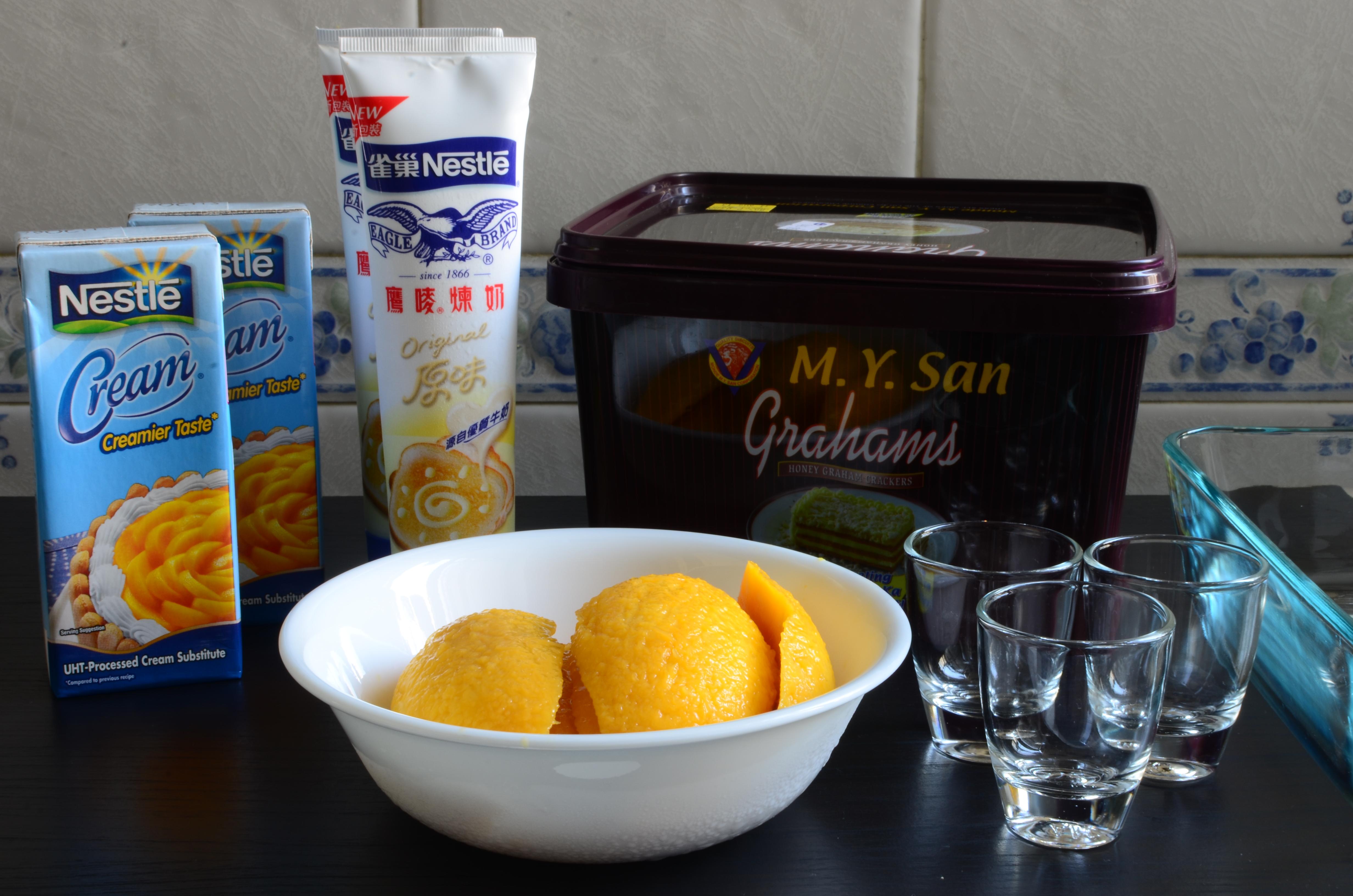 Mango Float Ingredients