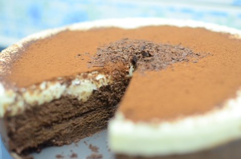 Triple Chocolate Mousse Cake 2